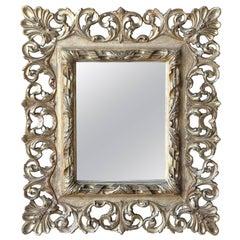 19th Century Italian Gold Gilt Mirror