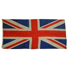Early 19th Century  About 1840s Union Jack Flag (British Naval Flag)