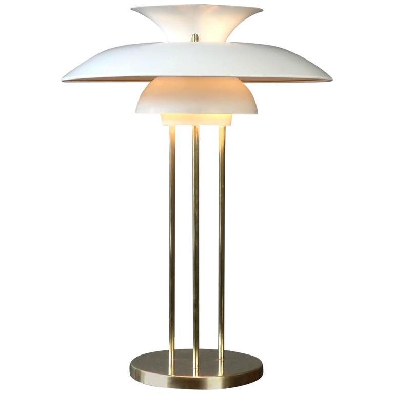 poul henningsen ph5 table lamp at 1stdibs. Black Bedroom Furniture Sets. Home Design Ideas