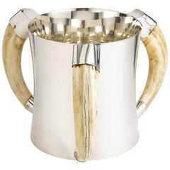 Silver Champagne Cooler by William Hutton & Sons, London, 1908