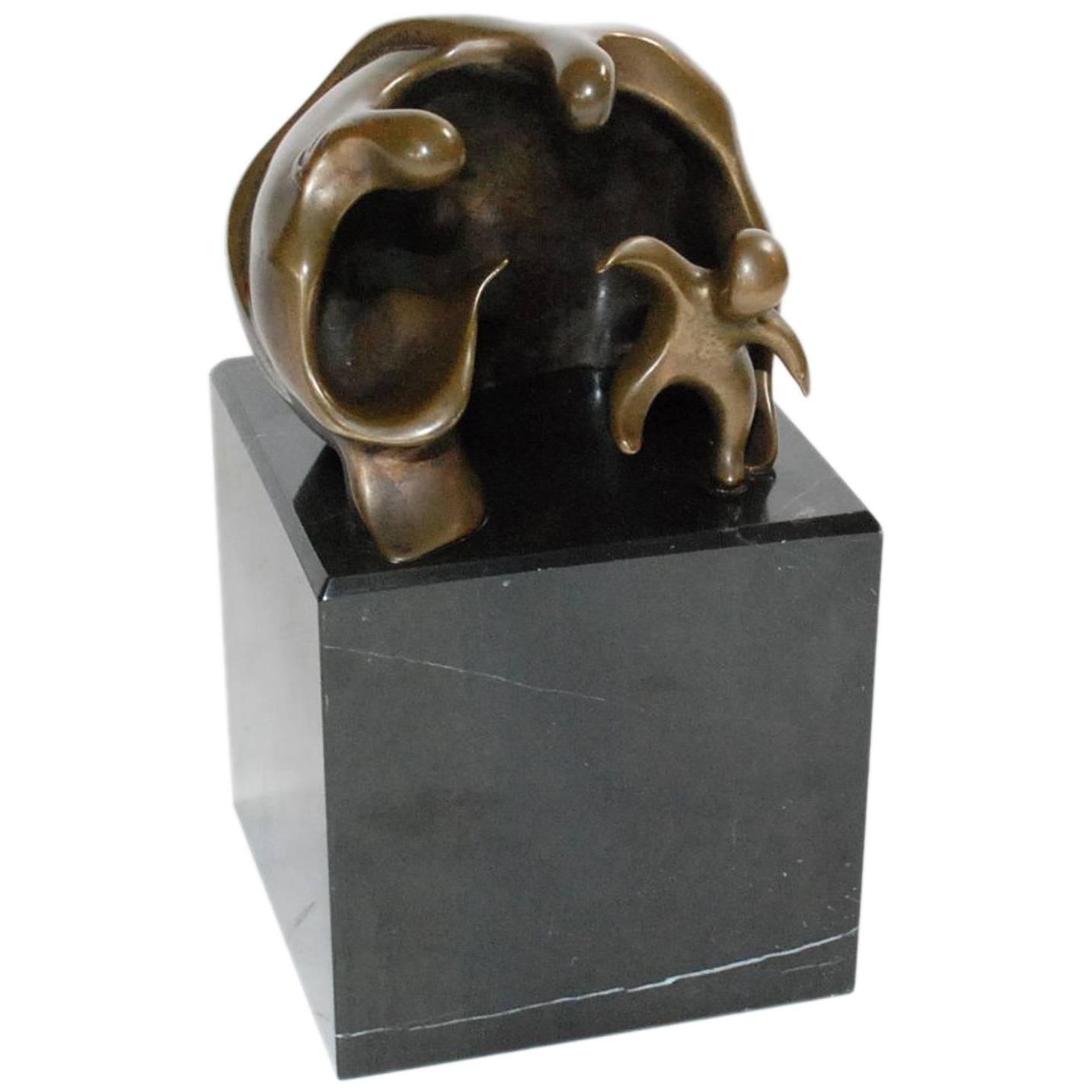 """""""First Steps"""" Bronze Sculpture by James Menzel-Joseph"""