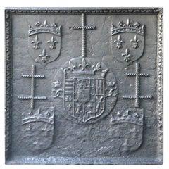 16th Century Lorraine Coat of Arms Fireback