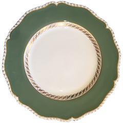 Set of 11 Royal Worcester Dinner Plates, Dated 1952