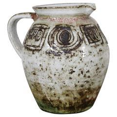 Vallauris Ceramic Pitcher