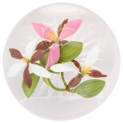 Gordon Smith Trillium Bouquet Paperweight