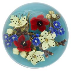A Beautiful David Graeber Bouquet Paperweight