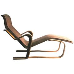 Marcel Breuer Isokon Upholstered Long Chair 1935-36