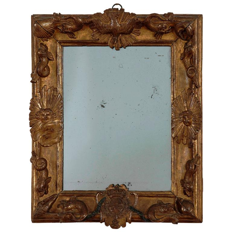 French Royal Frame Mirror for the Grand Dauphin, circa 1670 1