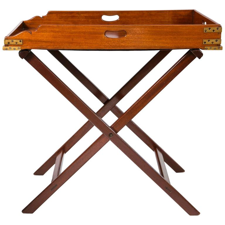 Butlers Tray Table Mahogany For Sale At 1stdibs