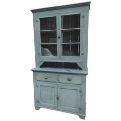 Old Blue Pennsylvania Cupboard