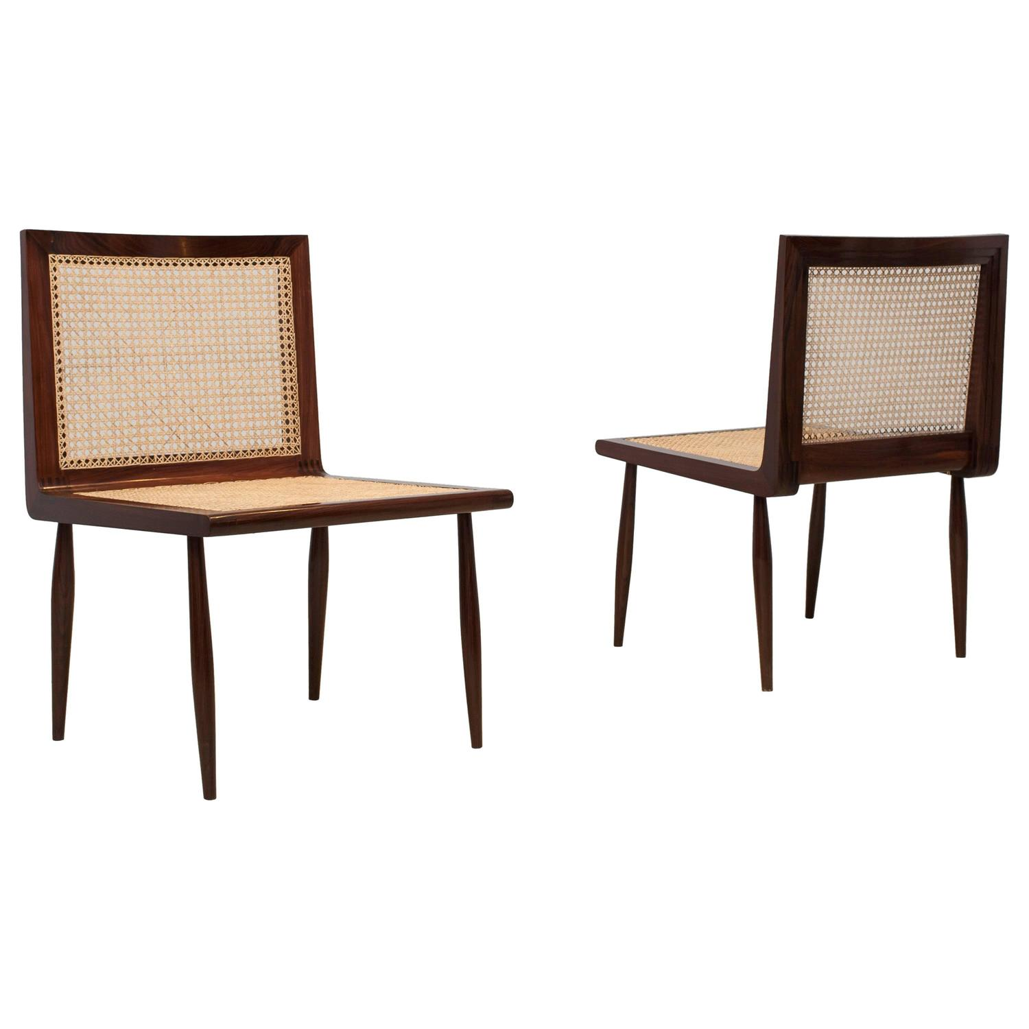 joaquim tenreiro low bedroom chairs circa 1950 for sale at 1stdibs