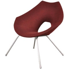 Easy Chair by Augusto Bozzi for Saporiti Italy, circa 1950