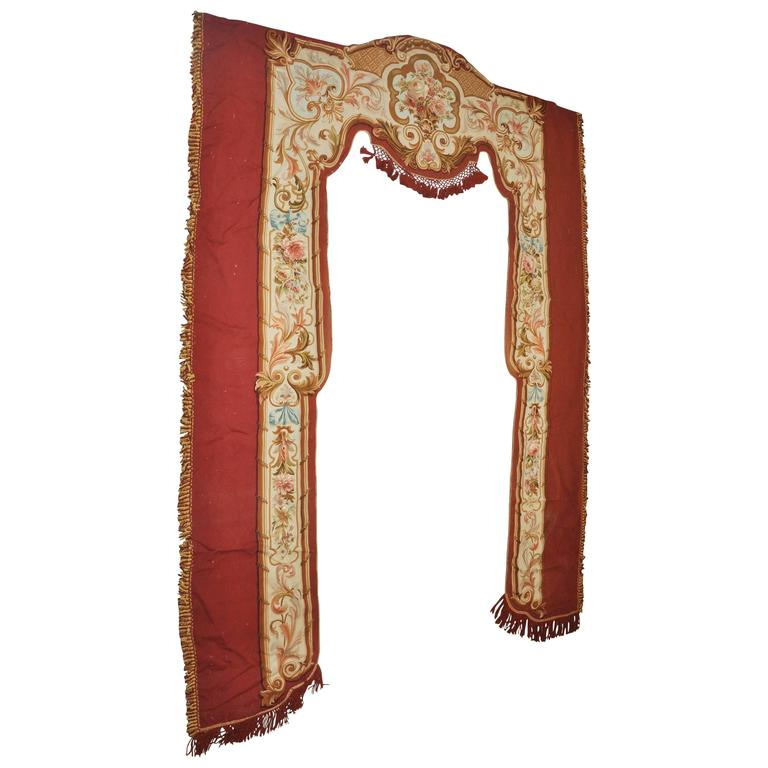 19th Century Savonnerie Wall Hanging