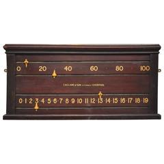 English Billiards Snooker Scoreboard