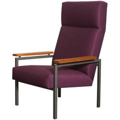 Gijs Van Der Sluis High Back Lounge Chair