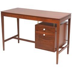 Walnut and Brass Desk by Kipp Stewart for Drexel