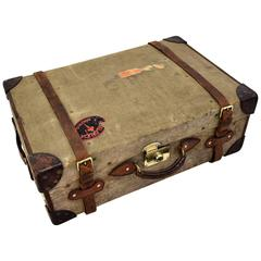 1930's Suitcase Hand Made by Cleghorn, Edinburgh, Scotland