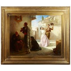John William Haynes Museum Large Painting, 1867