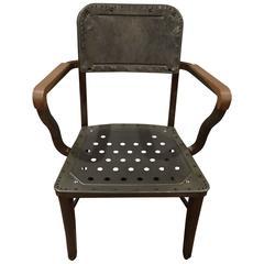Metal Steelcase Chair