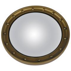 Early 20th Century Convex Mirror, Mid-Size, Regency Style, circa 1920