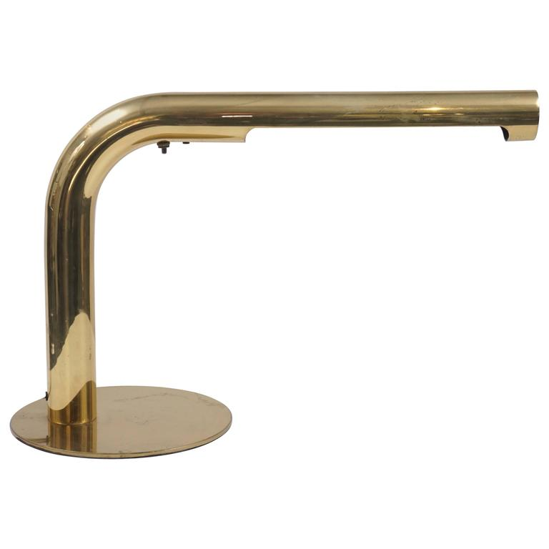 Robert Sonneman Brass Desk Lamp