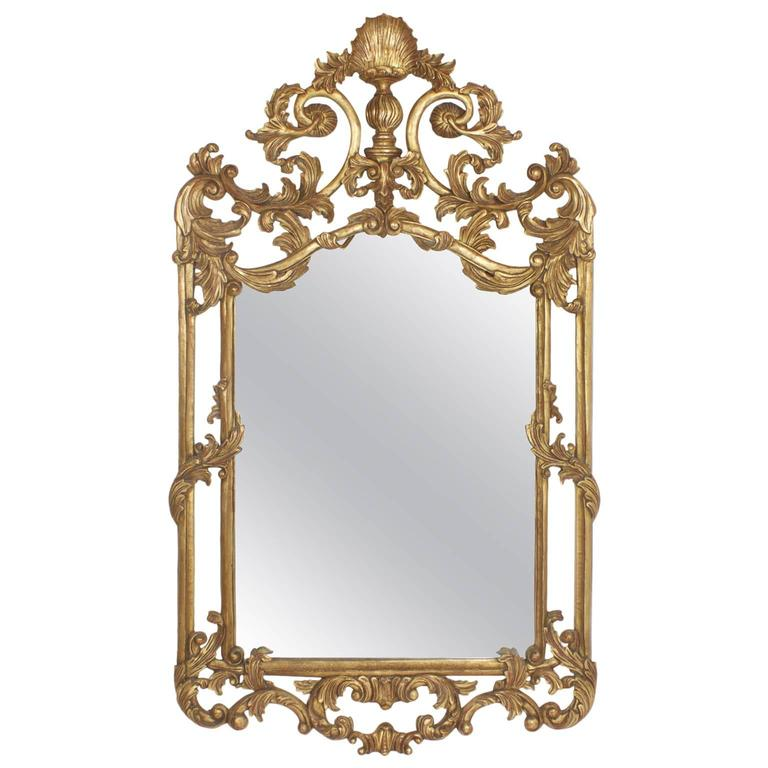 fancy gilt italian mirror for sale at 1stdibs