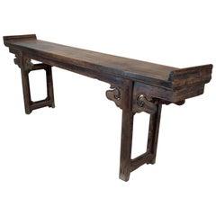 18th Century Walnut Altar Table