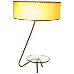 Mid Century Modern Brass Grasshopper Table Lamp