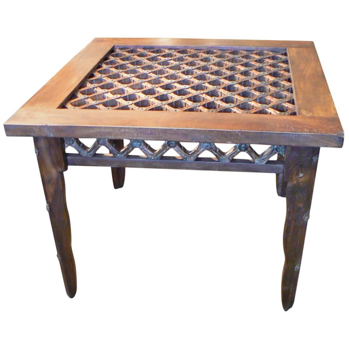 Craftsman Made Adirondack Coffee Or Side Table At 1stdibs