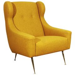 Italian solo armchair from the 1950´s