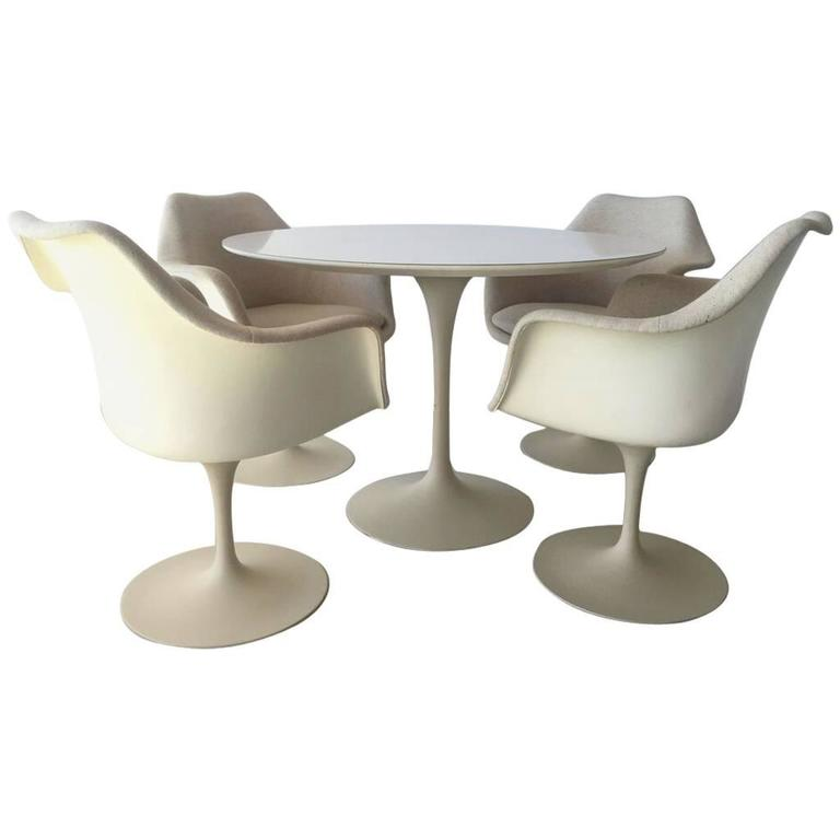 SEASONAL DEAL Tulip Table and Chair Dining Set by Eero