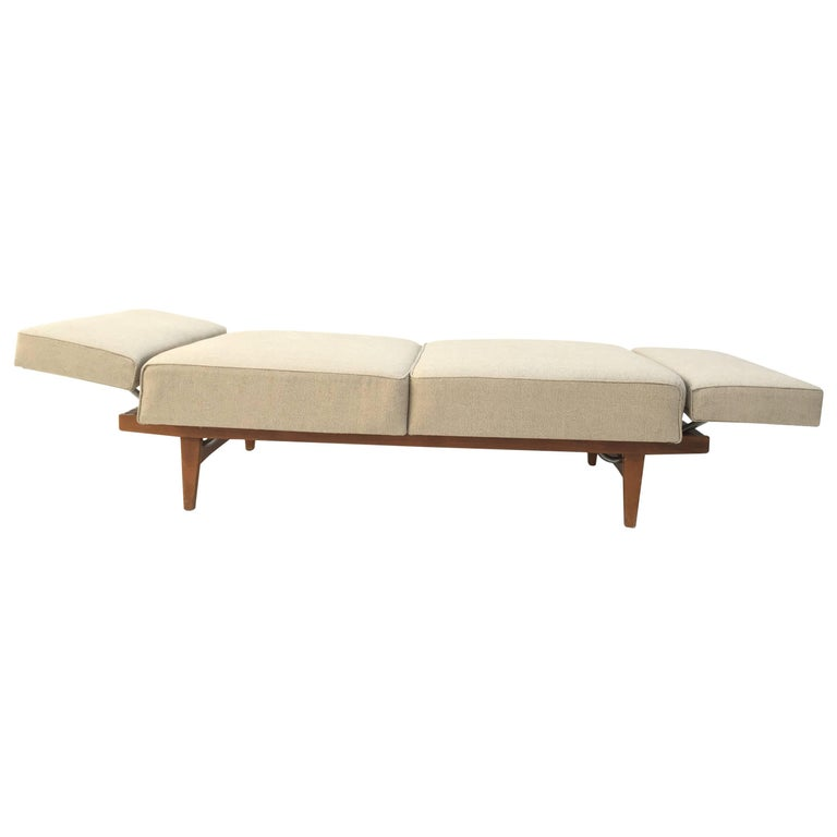 1950s Magic Day Bed Sofa Model Stella (no. 5920) By Wilhelm Knoll Germany For Sale