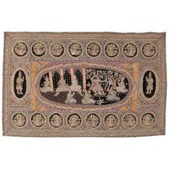 Vintage Burmese Tapestry