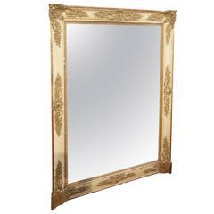 Large Vintage Baroque Mirror