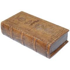 Late George III Wooden Snuff Box, Late 18th Century