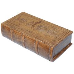 Late George III Wooden Snuff Box, Late 18th Century