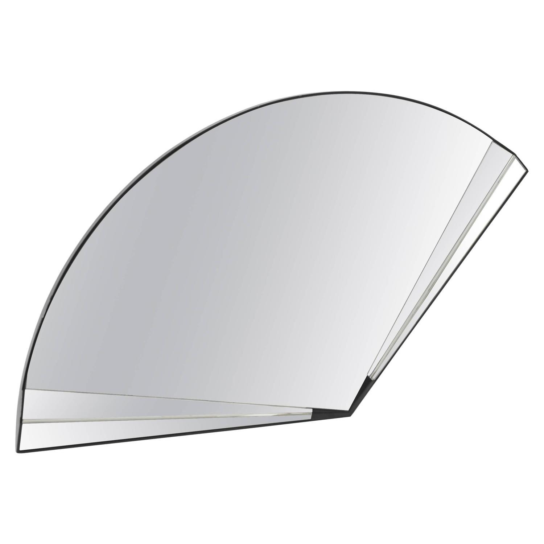Hand Fan Shaped Wall Mirror at 1stdibs