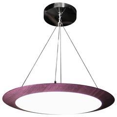 Dear John #4, Pendant Lamp Tribute to John McCracken, Great Dining Table Light