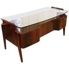 Large Sculptural Desk by Dassi, Italy, 1960s