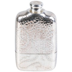 Tiffany and Co. Sterling Silver Flask, 1883-1891