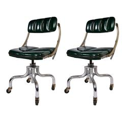 """Pair of 1940s """"Do-More"""" Chairs"""