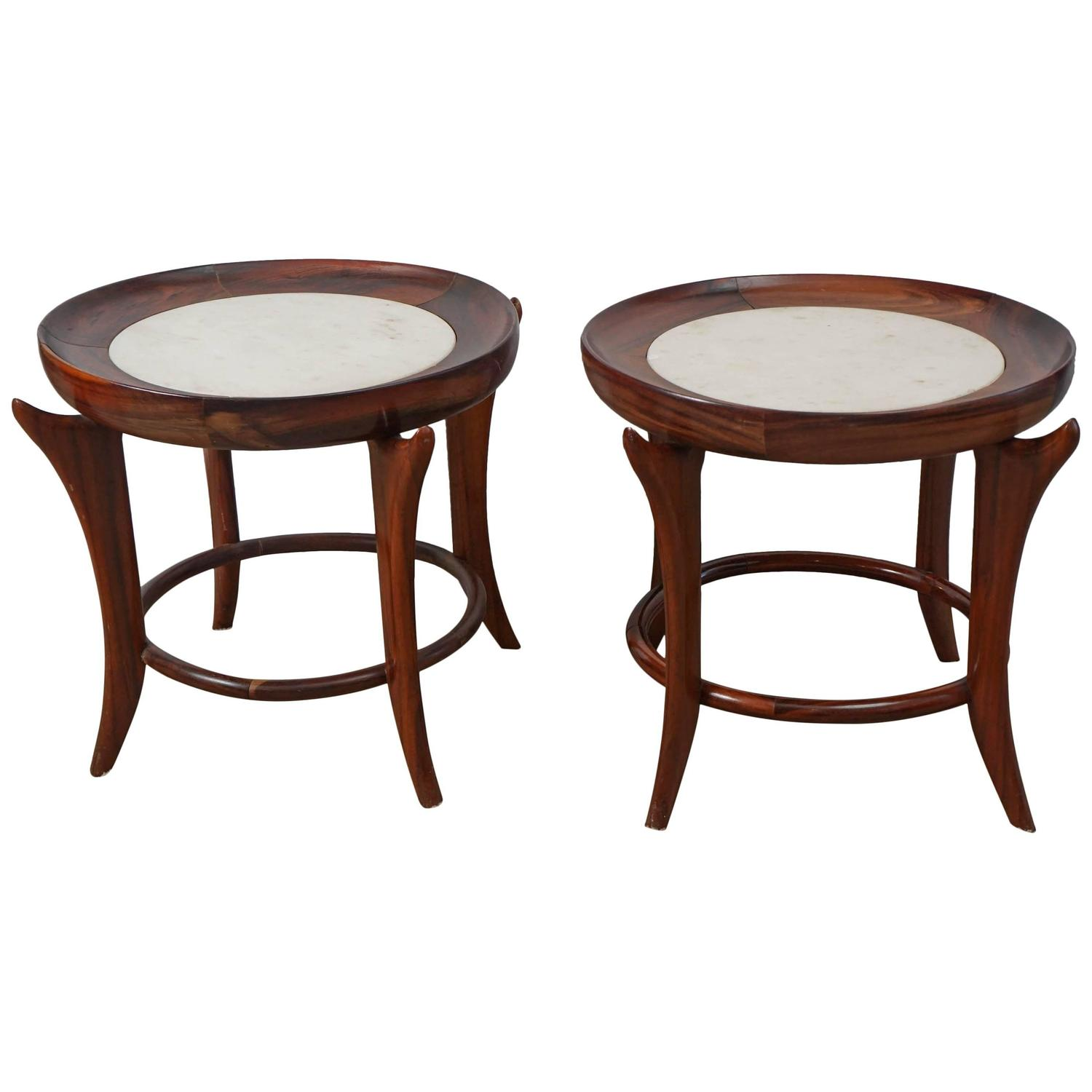 Pair of brazilian side tables mid century modern at 1stdibs - Brazilian mid century modern furniture ...
