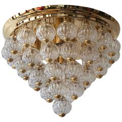 Hollywood Regency Style Chandelier or Flush Mount