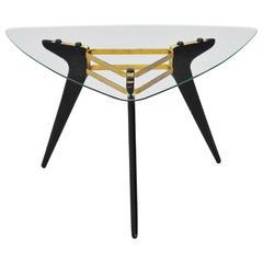 Alfred Hendrickx Style Coffee Table, Belgium, 1958