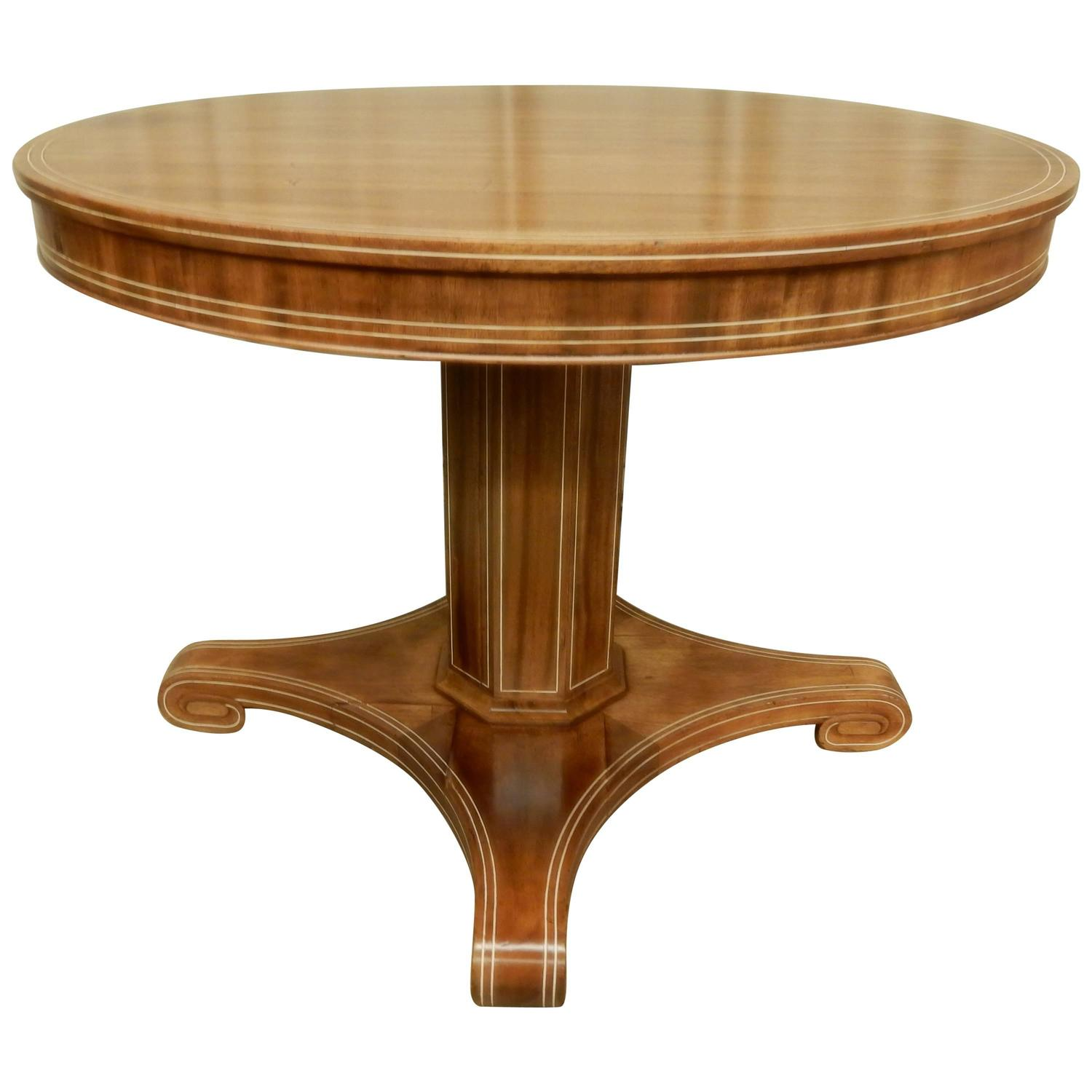 Art Deco Foyer Table : Art deco center hall table at stdibs