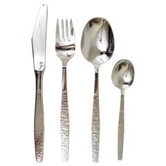 Austrian Modernist Flatware Cutlery by Collini Austria, 1960s