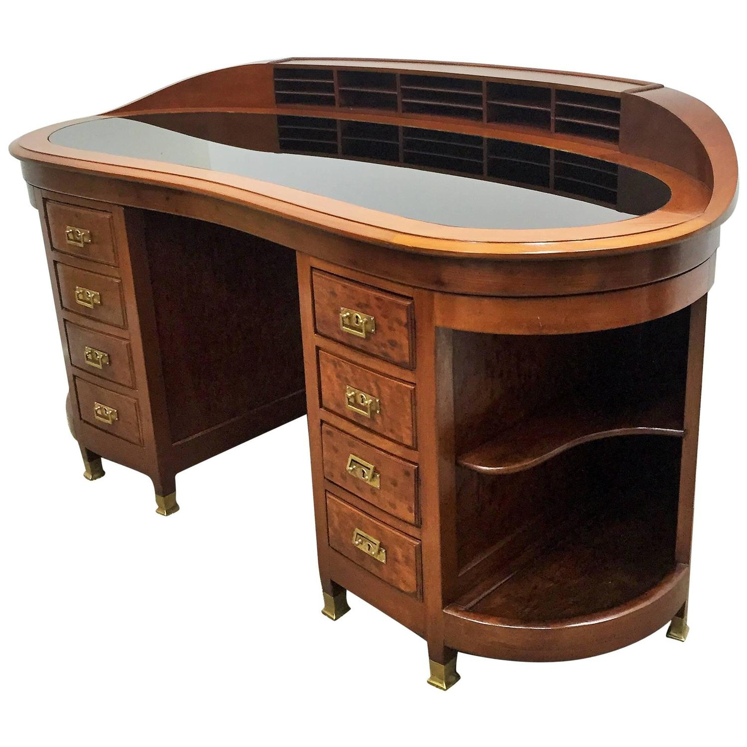 elegance and beautiful desk table art deco at 1stdibs
