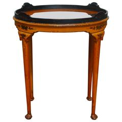 Queen Anne Style Chinoiserie Tea Table