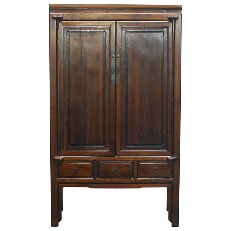 chinese kitchen cabinet armoire for sale at 1stdibs chinese bamboo kitchen cabinet for sale at 1stdibs