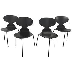 Set of Four Ant Chairs by Arne Jacobsen
